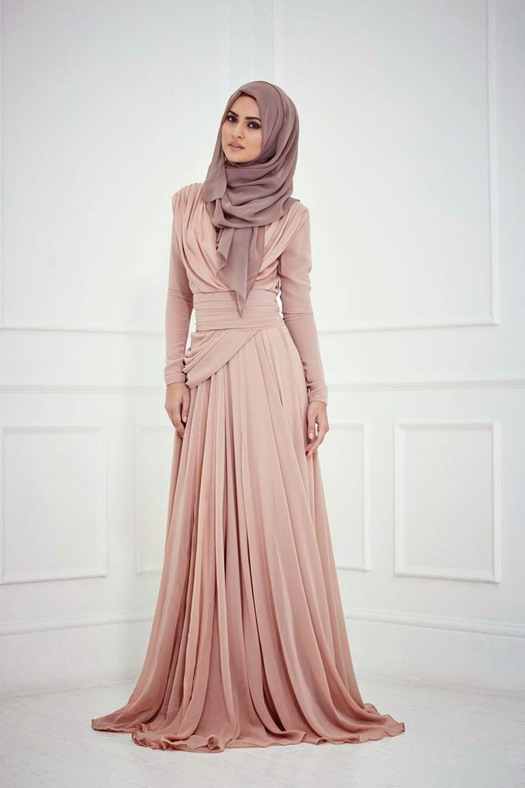 Latest Fashion Arabic Hijab & Abaya Collection 2015