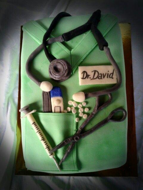 Leendő orvosnak :-) Doktor-torta :-)  Doctors-cake