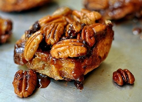Chocolate Pecan Praline Sticky Buns... these are way too dangerous for me right now!