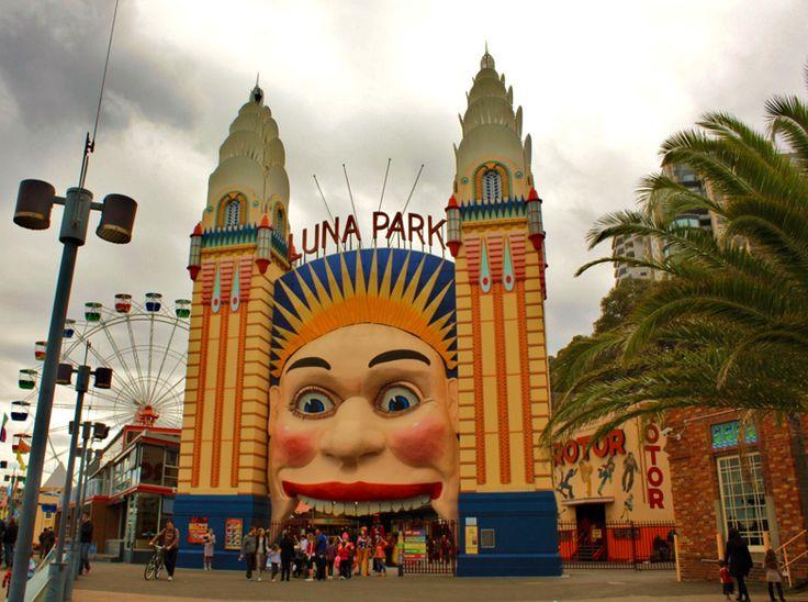 Luna Park, Sydney by Jan Smith. CC BY 2.0.