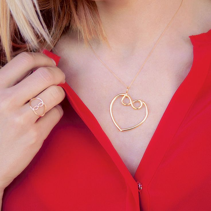 The collection of joined hearts with infinity sign offers openwork talismans of love. #lilou #joined #hearts #infinity #openwork #love #silver #goldplated
