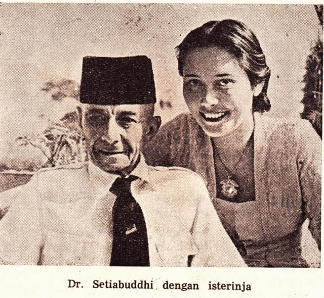 Ernest François Eugène Douwes Dekker (1879-1950) & Dietje, INDONESIAN activist & father of education