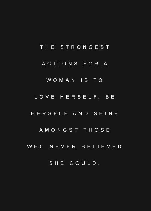 Want to make $1000 in 30 days ? Fill out the form The strongest action for a woman is to love herself, be herself and shine amongst those who never believed she could.