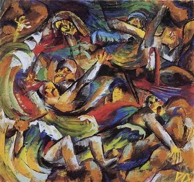 'Cadáveres de Paz y de Guerra'  Otto Dix.