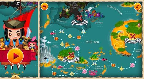 Tales of Pirates – Storie di Pirati 13 preschool mini-games 13 mini-giochi prescolastici  #review app by #MammaLoSa