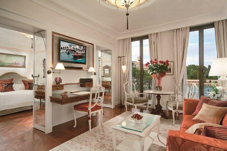 Las suites del palacio Vendramin ofrece vistas a los jardines Casanova