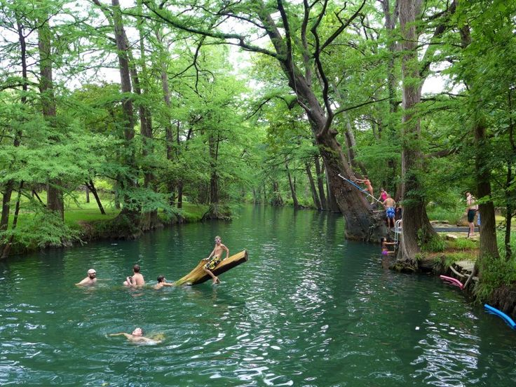 15 Best Swimming Holes in the Texas Hill Country