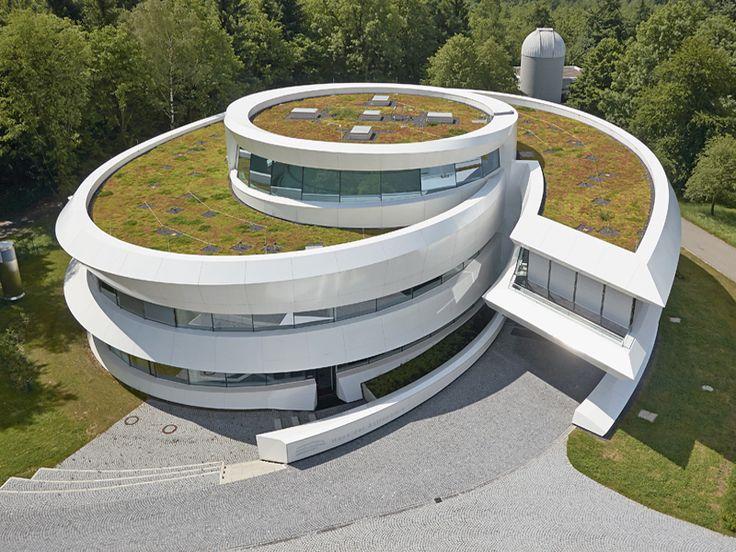 Objektbericht: Haus der Astronomie in Heidelberg - die begrünte Spiralgalaxie