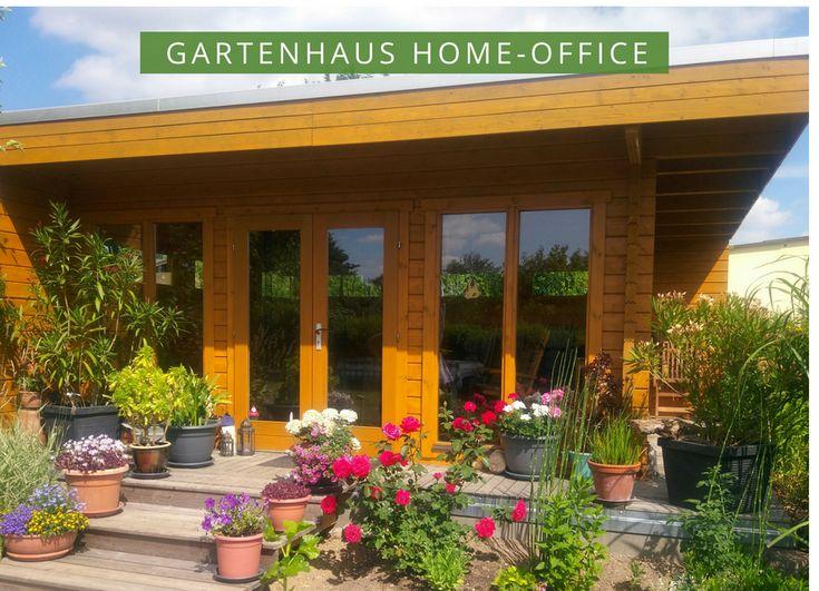 gartenhaus home office  moderne flachdach gartenhaeuser