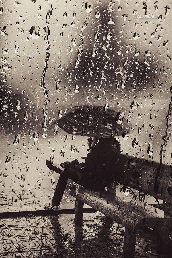 Silent rain by Cao Anh Tuan