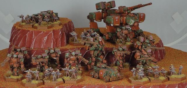 Heavy Gear Blitz - PRDF-LB2 by John Prins, via Flickr