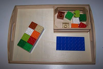 Duplo Pattern Matching - like this idea.  Good for boys and girls.