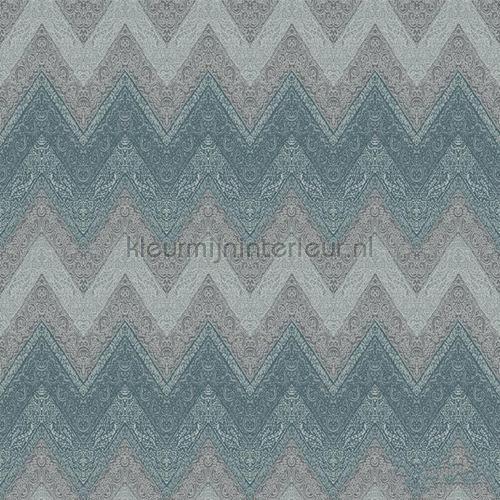 Indische zigzag behang G67350 uit de collectie Indo Chic van Noordwand ontdek je bij kleurmijninterieur