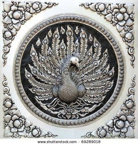 Alüminyum folyo kabartma sanatı