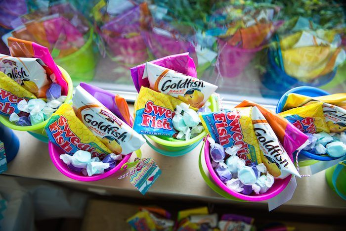 party favors for beach/mermaid party/eb