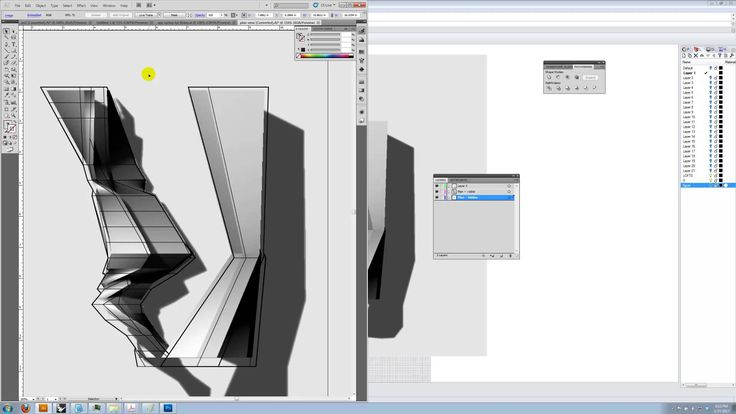 ARCH2102 - Orthographic Drawings from Rhinoceros