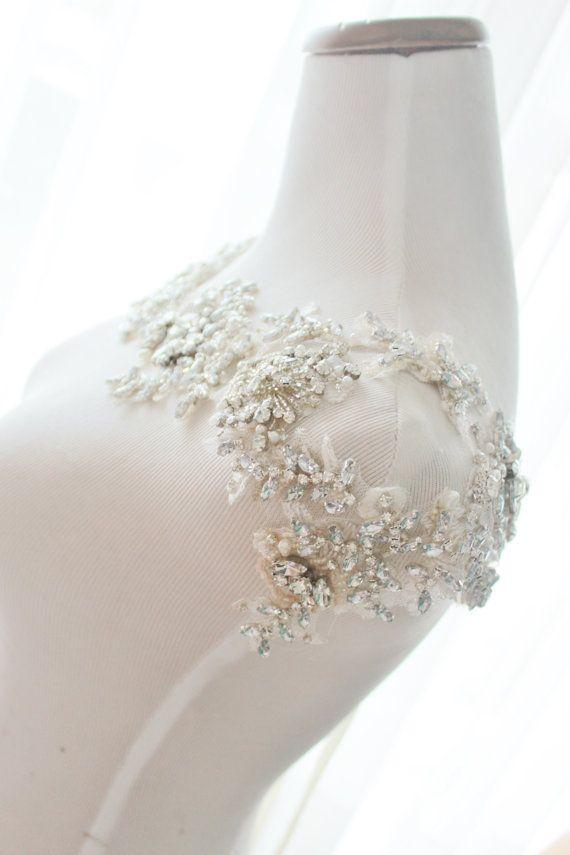 Crystal Bridal Bolero Hochzeit-Anweisung von abigailgracebridal