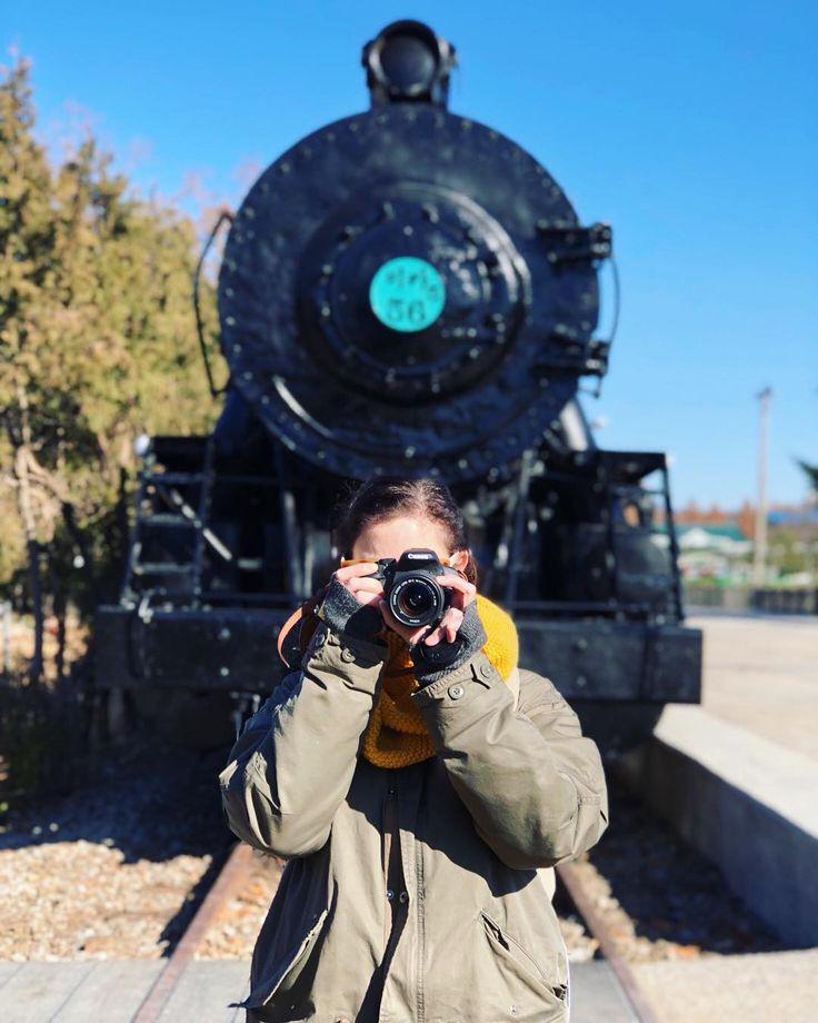 Are you more comfortable in front of the camera or behind it?         @soju4two    #경춘선숲길 #gyeongchunlinepark #화랑대역 #노원구 #기차 #옛날 #traincar #railcar #imagineyourkorea #iseoulu #ig_korea #seoulkorea #visitseoul #seoulinspirit #seoul_korea #travelasia #TLAsia #visit_korea #seoulsnap #koreabyme