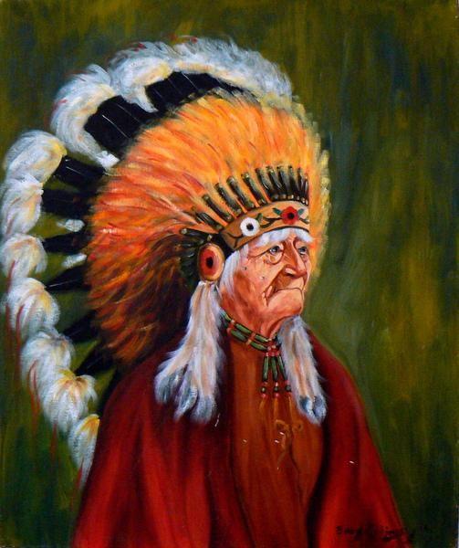 Chief Everlasting Sky by     Artist:Eddy Cobiness