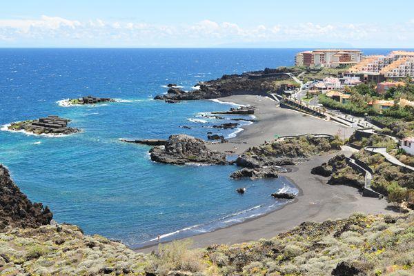 Playa de Los Cancajos in Breña Baja, La Palma