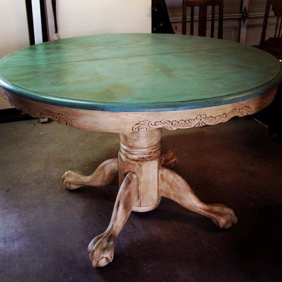 59 Best Claw Foot Table Re Do S Images On Pinterest