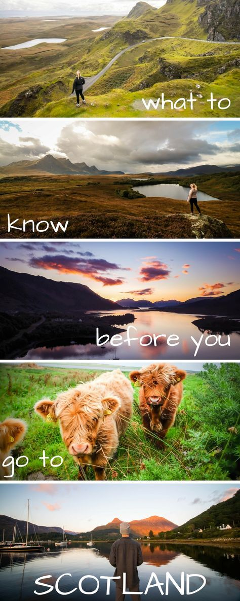 All you need to know for Scotland travel. Including the highlands, Edinburgh, Glasgow, Lochness, Isle of Skye, info on food, castles, and even the fairy pools