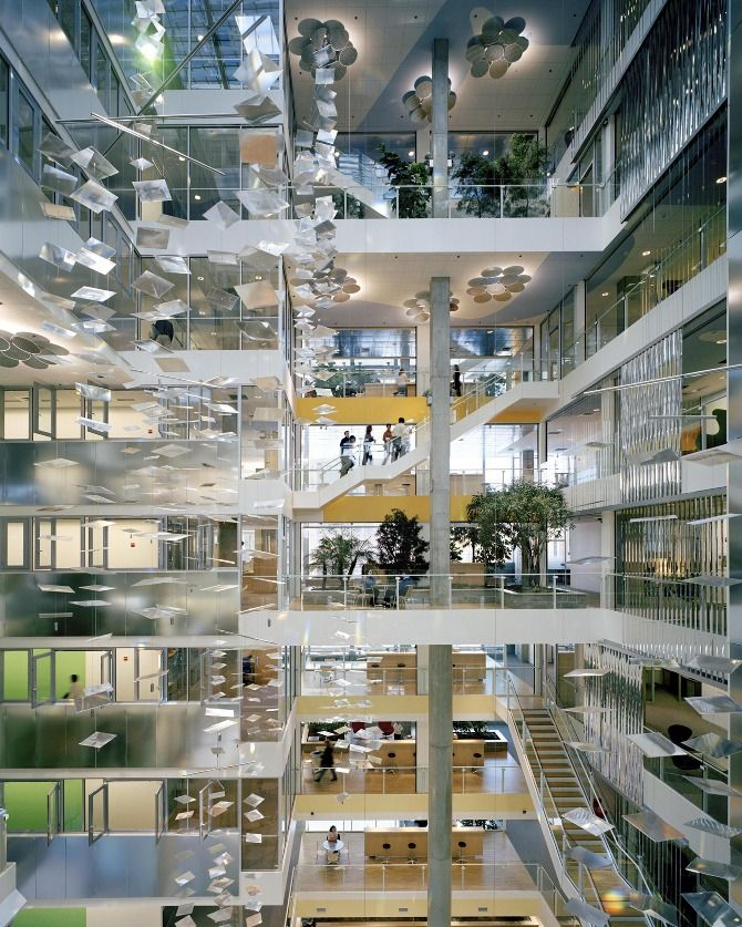 Genzyme Center Behnisch And
