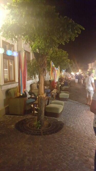 Szentendre at night