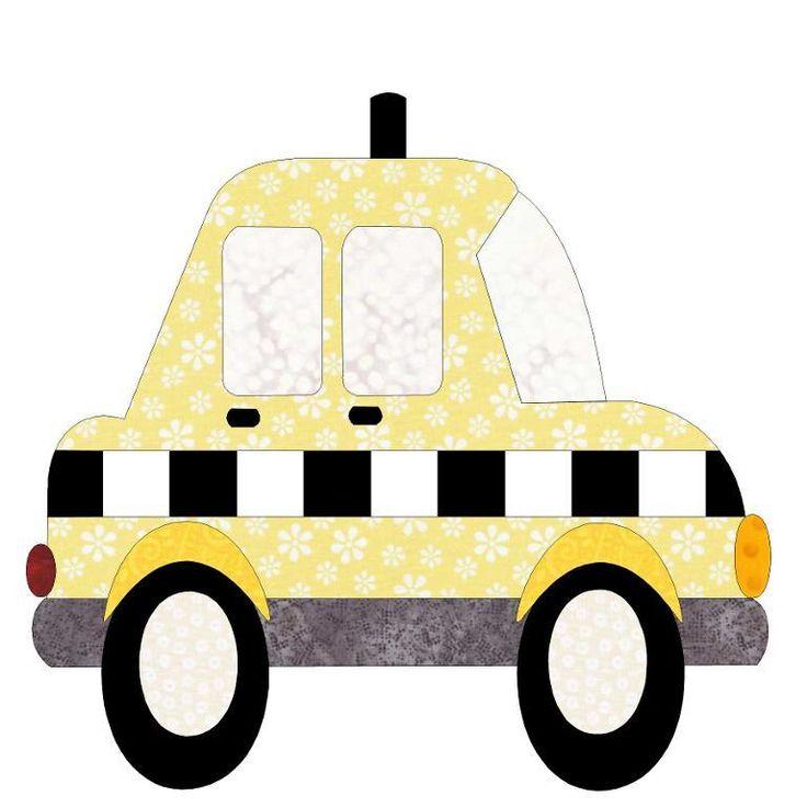 Cars and Plane Applique Quilt Blocks