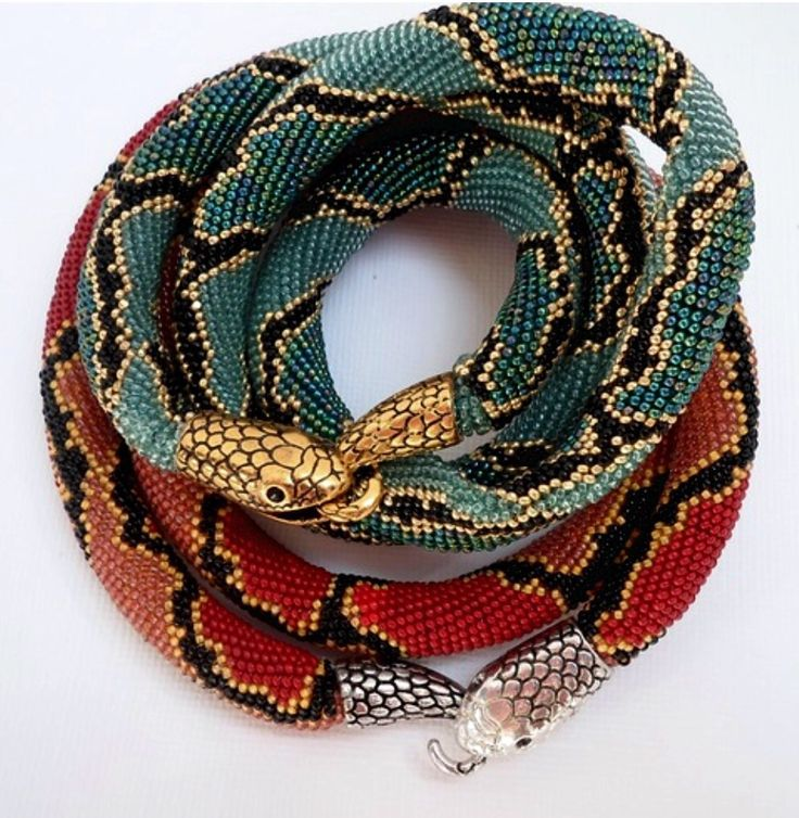 Beaded Snake Necklaces