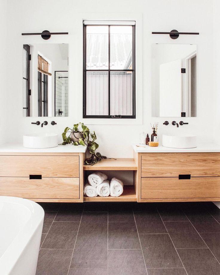 Badezimmer Bathroom Wohnen Home Modernes Badezimmerdesign Badezimmer Innenausstattung Badezimmer Design