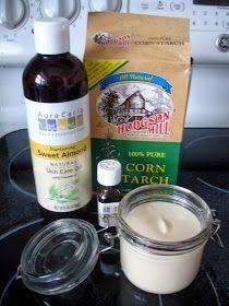 Homemade Anti-Chafing Cream