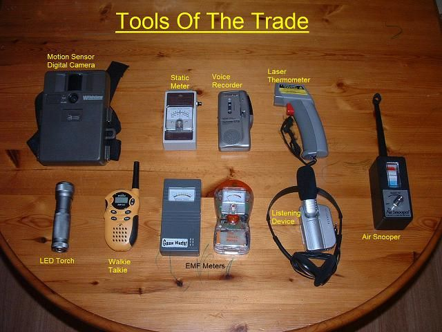 Paranormal Equipment1