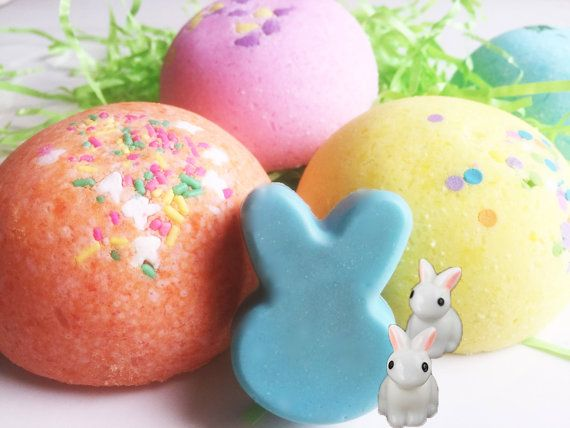 314 best bath candy images on pinterest bath bombs bath bomb easter bunny bomb bath candy lush fizzy bomb with bunny toy and soap inside negle Images