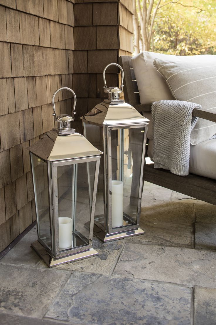 Brighten up your outdoor space with our Dock Lanterns.