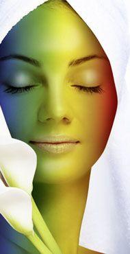 Světelná terapie Bioptron - Barevná terapie
