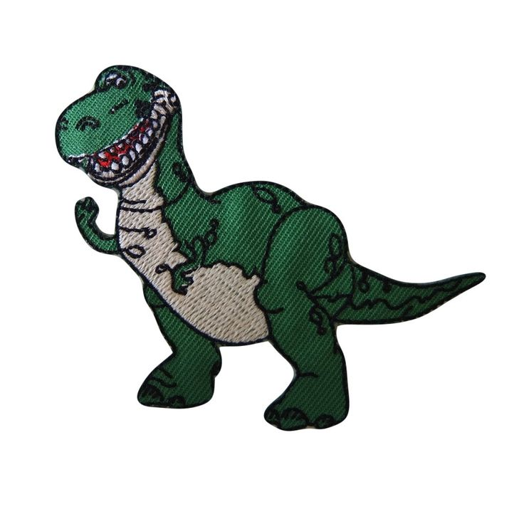 Disney's Toy Story Movie Rex the Dinosaur Figure Embroidered Patch (3 inches tall by 2.5 inches wide) by FandomCSN on Etsy https://www.etsy.com/listing/249475239/disneys-toy-story-movie-rex-the-dinosaur
