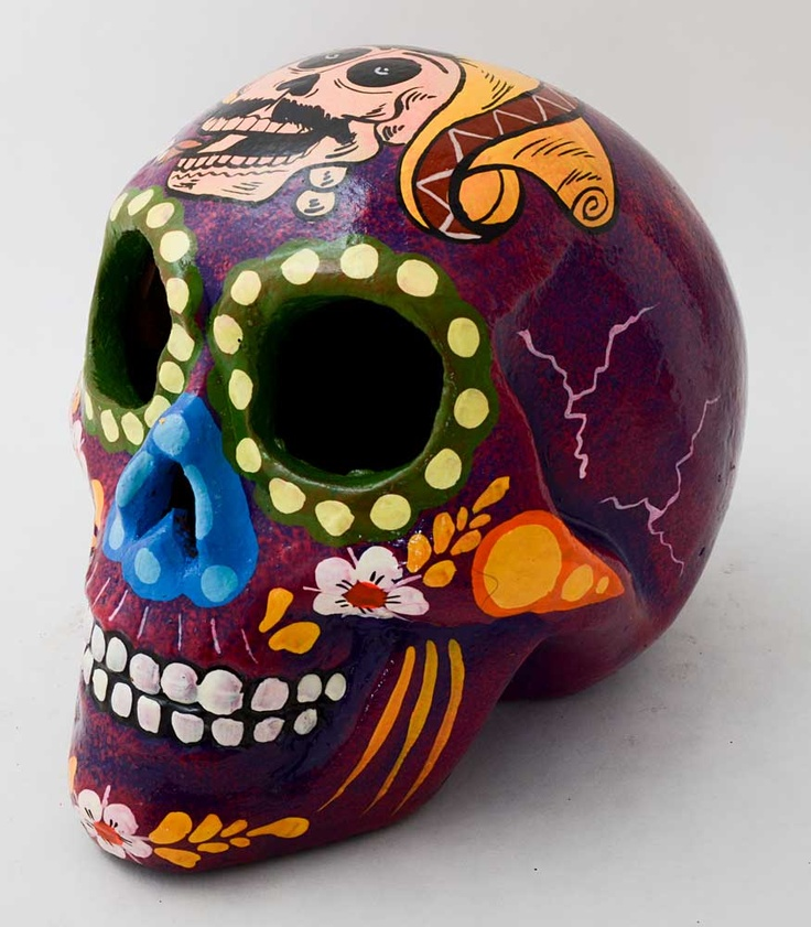 Mexican Hand Painted Sugar Skulls | Products I Love ...