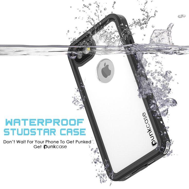 iPhone 7Waterproof Case, Punkcase [White] [StudStar Series] [Slim Fit] [IP68 Cer…
