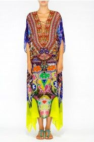 What a beautiful kaftan by Camilla Franks Spring 2014