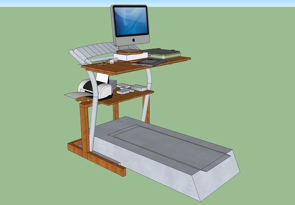 17 Best Images About Diy Treadmill Desks On Pinterest