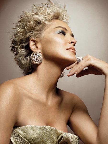 Sharon Stone For Damiani Jewelry
