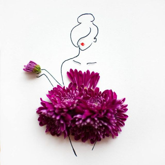 design-dautore.com: Flower Art by Lim Zhi Wei