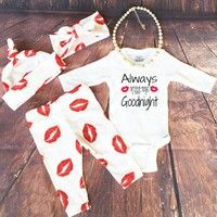 Cute Newborn Baby Girls Boy 4PCS Outfits Clothes!! High quality and Brand new 100% Main Color: AS