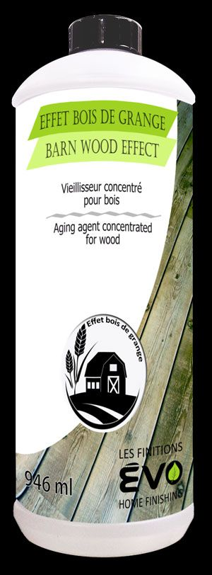 Effet bois de grange - Produit vieillisseur pour bois