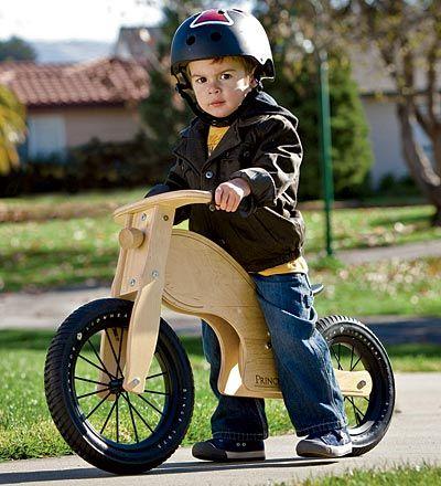 Prince Lionheart loopfiets/ Prince Lionheart Wood Balance Bike