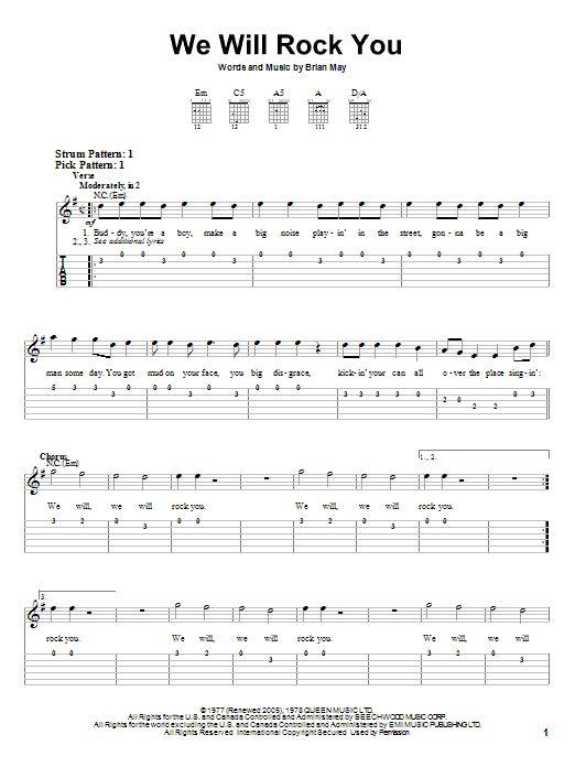 Easy Guitar Chords | TAB DOWNLOADS