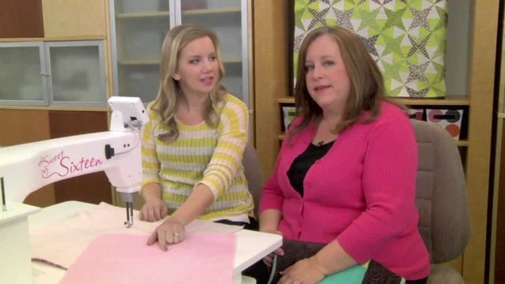 Video - Machine Quilting: Intro to Swirl Designs.  Angela Walters & Jennifer Keltner on All People Quilt