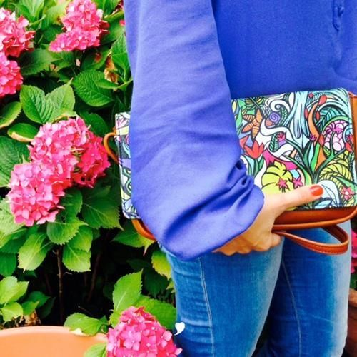 @getcuore #cuore #messina #bag #leather #colors #flowers #fashion www.getcuore.com