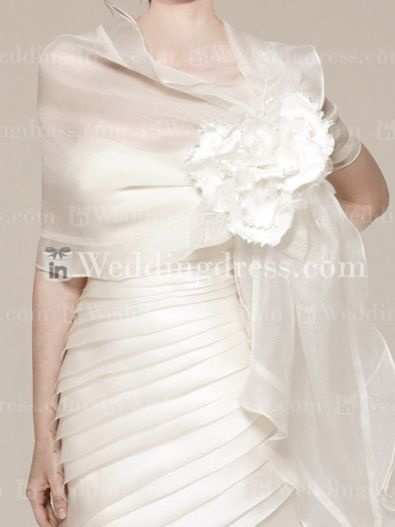 Wedding Wraps-Style JC019 - I dunno about this - I like it, its funky and the dress that is behind it is a lot like mine. Opinions? $ 50